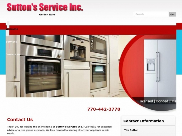 suttonappliancerepair.com